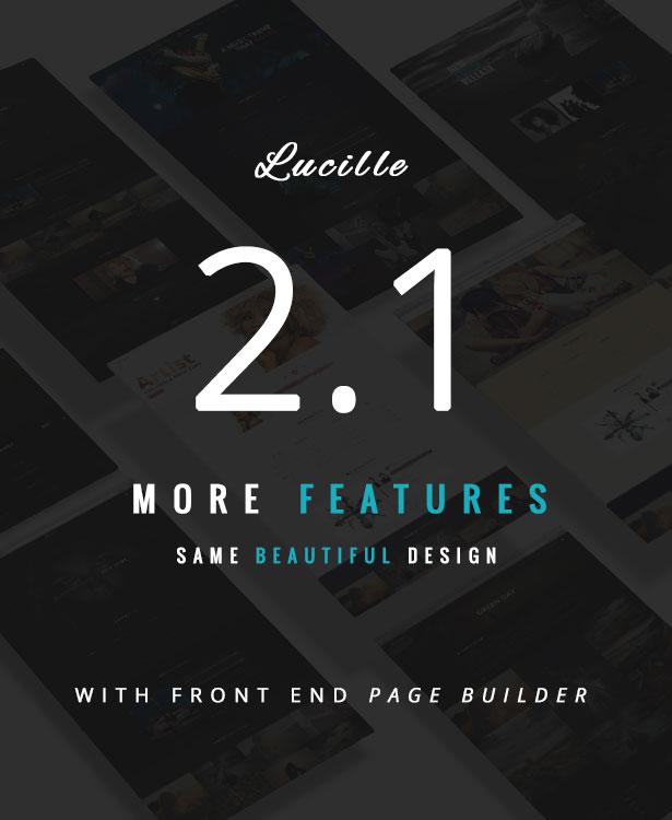 Lucille Music WordPress Theme Updates